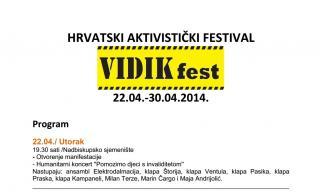 Program VIDIK fest-a 2014