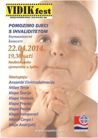 Humanitarni koncert za potrebe djece s invaliditetom